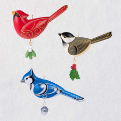 Birds Oversized Outdoor Ornaments