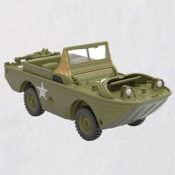 Ford 1944 GPA Amphibious Vehicle Metal Ornament