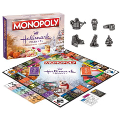 Monopoly Hallmark Channel Board Game