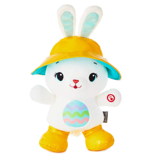 Hoppy Day Bunny Musical Stuffed Animal With Motion