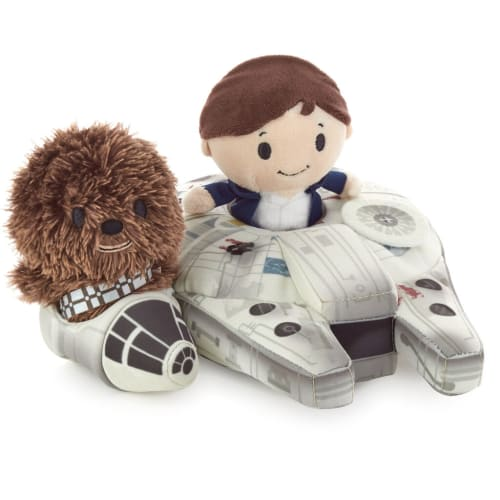 itty bittys® Star Wars™ Han Solo™ and Chewbacca™