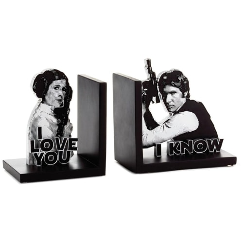 Star Wars™ Han Solo™ and Princess Leia™ Bookends