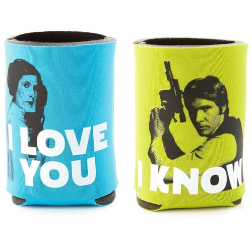 Star Wars™ Han Solo™ and Princess Leia™ Drink Sleeves