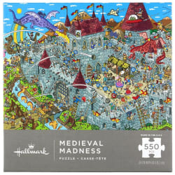 Medieval Madness 550-Piece Puzzle