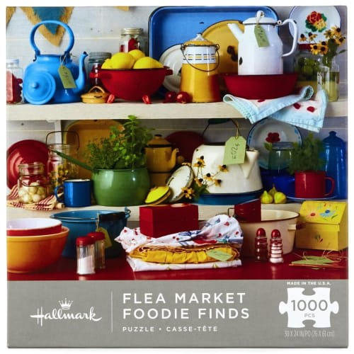 Flea Market Foodie Finds 1,000-Piece Puzzle