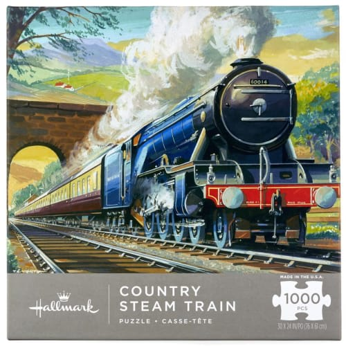 Country Steam Train 1,000-Piece Puzzle