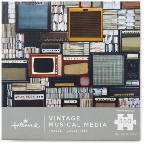 Vintage Musical Media 550-Piece Puzzle