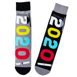 2020 Graduation Toe of a Kind Novelty Crew Socks