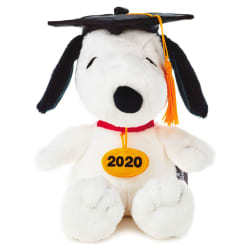 Peanuts® Snoopy 2020 Graduation Gift Card Holder Stuffed Animal
