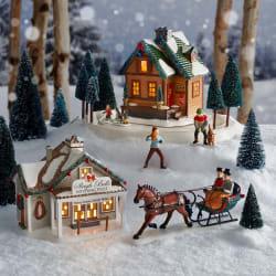Winter Woodland Standoff