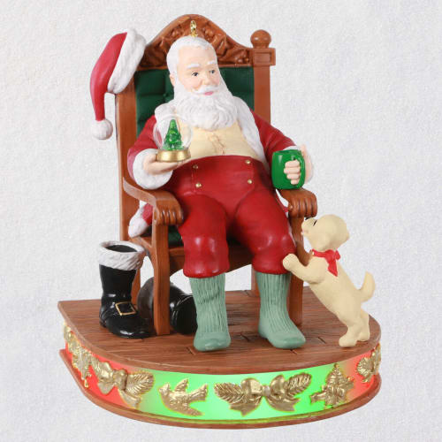 Once Upon a Christmas A Job Well Done Musical Ornament