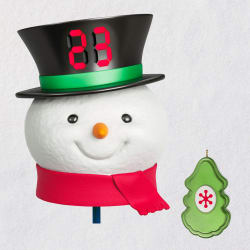 Countdown to Christmas Snowman Tree Topper