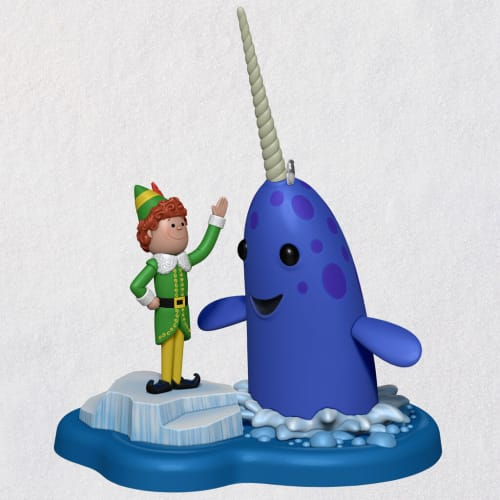 Elf™ Buddy's Buddy Mr. Narwhal Ornament With Sound