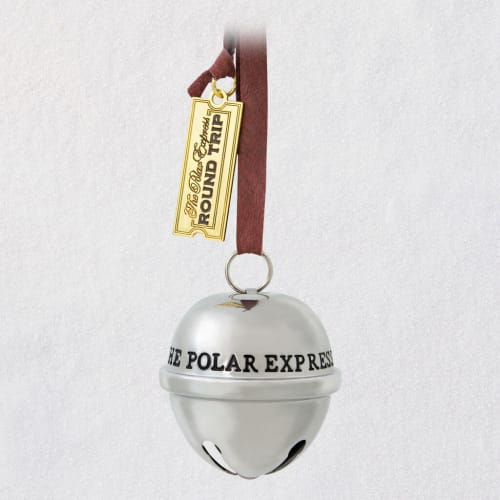The Polar Express™ Santa's Sleigh Bell 2020 Metal Ornament
