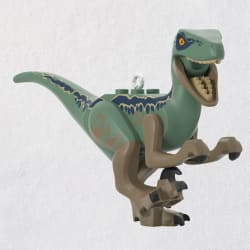 LEGO® Jurassic World™ Velociraptor Blue Ornament