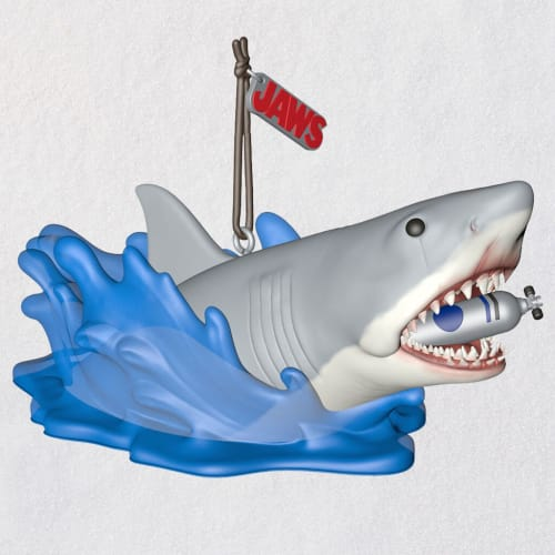 Jaws Shark Attack Ornament