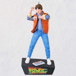 Back to the Future Marty McFly Ornament With Sound