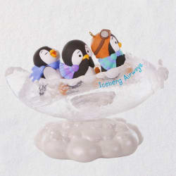 Fly the Coop Penguins Ornament