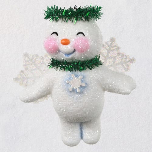 Lovable Snow Angel Ornament