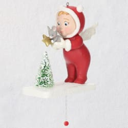 Festive Friends Pull-String Ornament