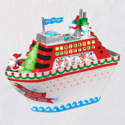 Christmas Cruisin' Musical Ornament With Light