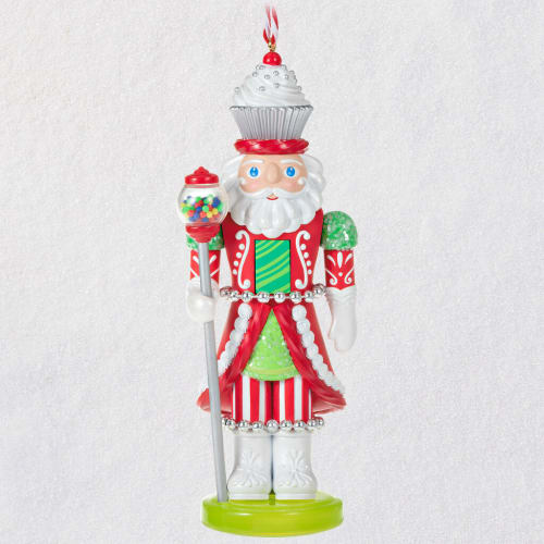 Noble Nutcrackers Confectionery King Ornament