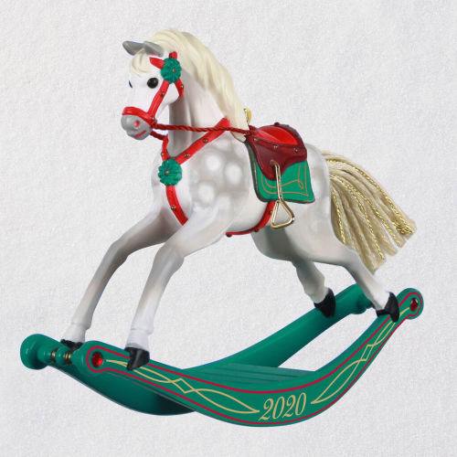 Rocking Horse Memories 2020 Ornament