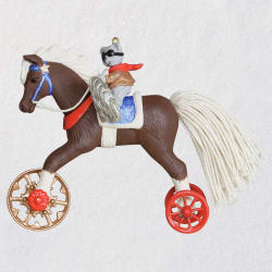 A Pony for Christmas 2020 Ornament