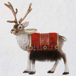 Father Christmas's Reindeer Ornament 2020