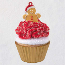Christmas Cupcakes Gingerbread Cutie Ornament