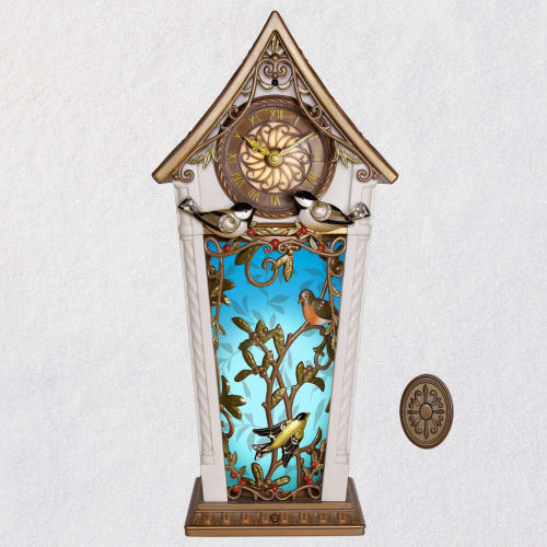 The Beauty of Birds Musical Clock With Motion and Light