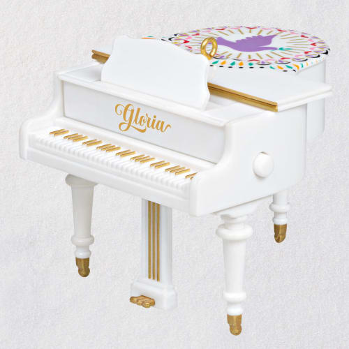 Angels We Have Heard On High Piano Musical Ornament