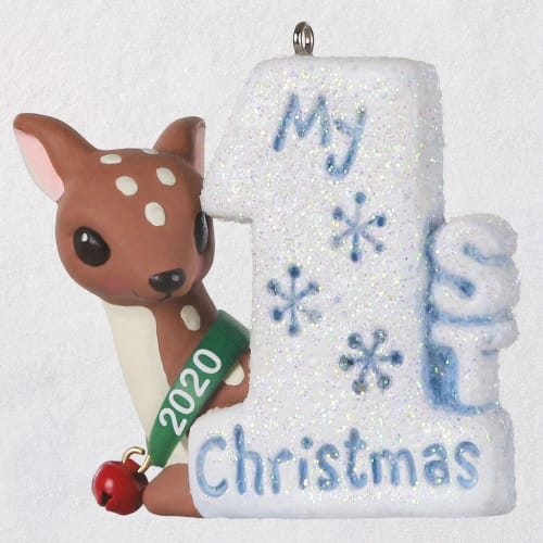 My 1st Christmas Baby Deer 2020 Ornament