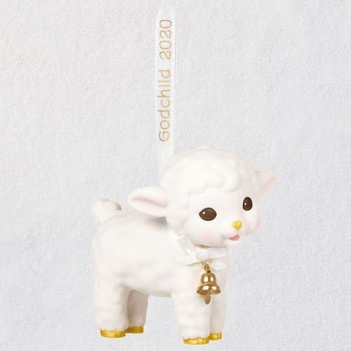 Godchild Lamb 2020 Porcelain Ornament