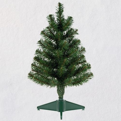 Miniature Keepsake Ornament Evergreen Christmas Tree