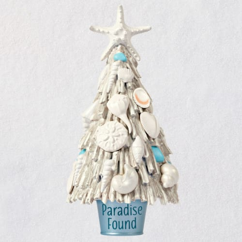 Paradise Found Beach Driftwood Tree Ornament