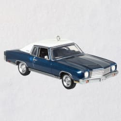 1970 Chevrolet® Monte Carlo™ SS™ 50th Anniversary Metal Ornament