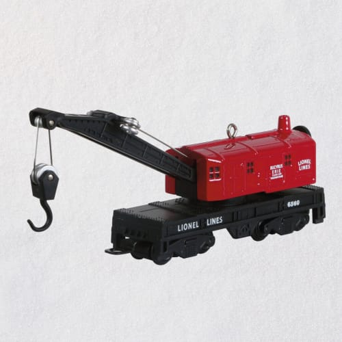 Lionel® 6560 Crane Car Metal Ornament