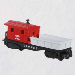 Lionel® 6119 Work Caboose Metal Ornament