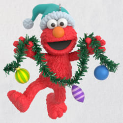 Sesame Street® Deck the Halls With Elmo Ornament