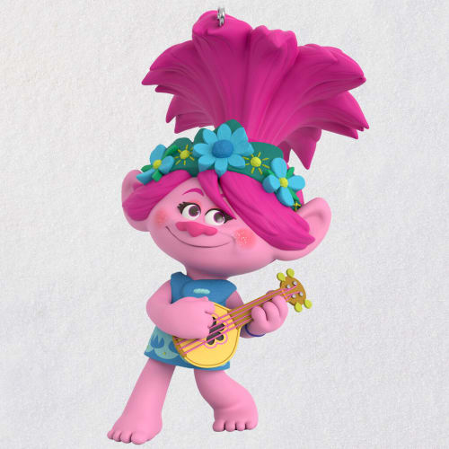 DreamWorks Animation Trolls World Tour Poppy Rocks! Ornament