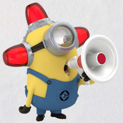 Despicable Me Minion Peekbuster Ornament