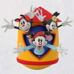 Animaniacs™ Yakko, Wakko, and Dot Ornament