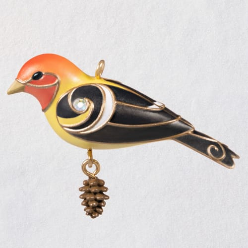 Mini Western Tanager Ornament