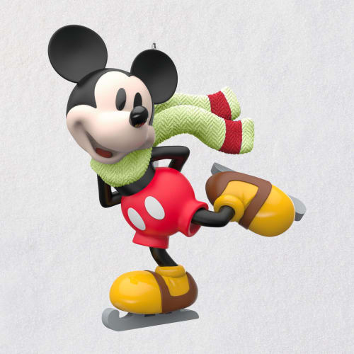 Mini Disney Mickey Mouse on Ice Ornament