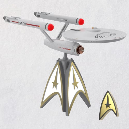 Star Trek™ U.S.S. Enterprise™ Musical Tree Topper