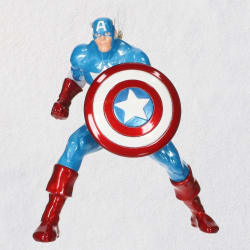 Marvel Captain America Metal Ornament