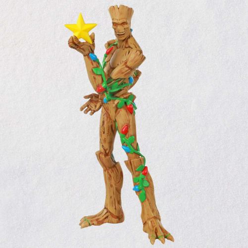 Marvel Guardians of the Galaxy O Christmas Groot Ornament