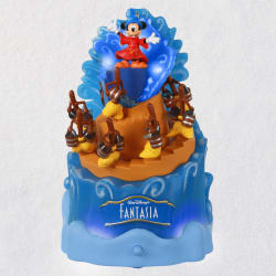 Disney Fantasia 80th Anniversary Musical Ornament With Light