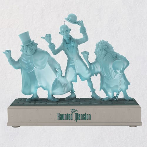 Disney The Haunted Mansion Hitchhiking Ghosts Musical Ornament
